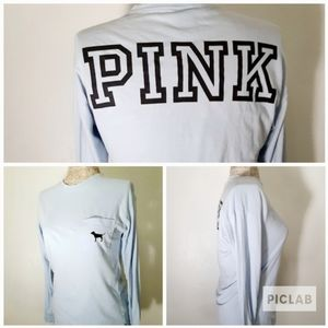 Pink Victoria's Secret slouchy sweater